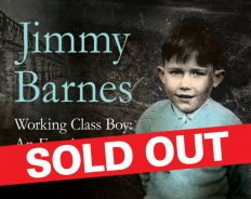 Jimmy Barnes Working Class Boy_Event