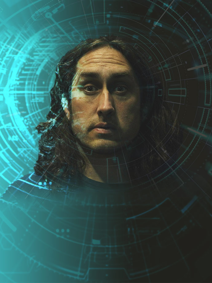 Ross Noble - Humournoid image